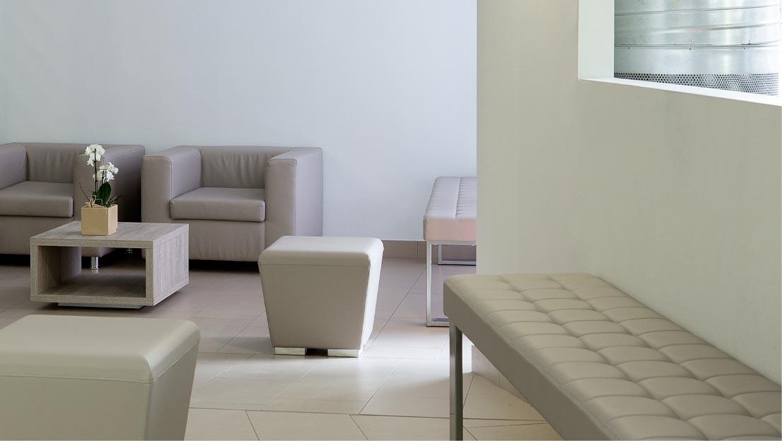 Salón, salas de espera