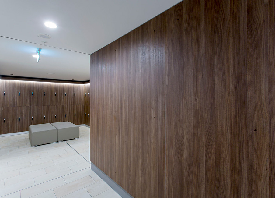 Lockers and furniture